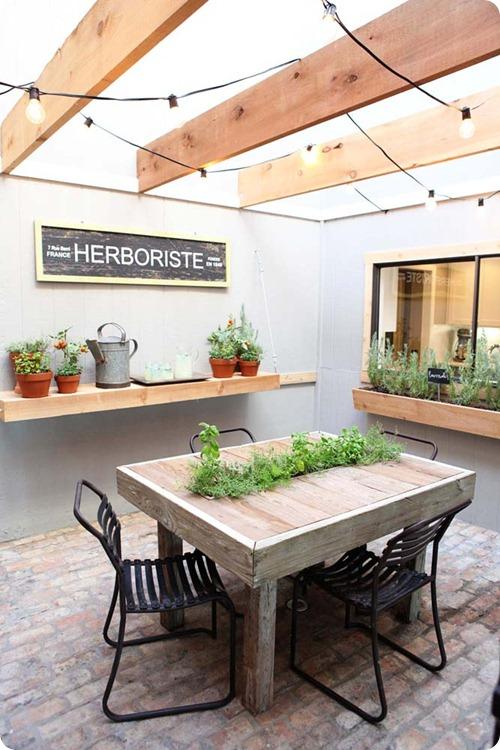 Herb Garden Cafe Fire