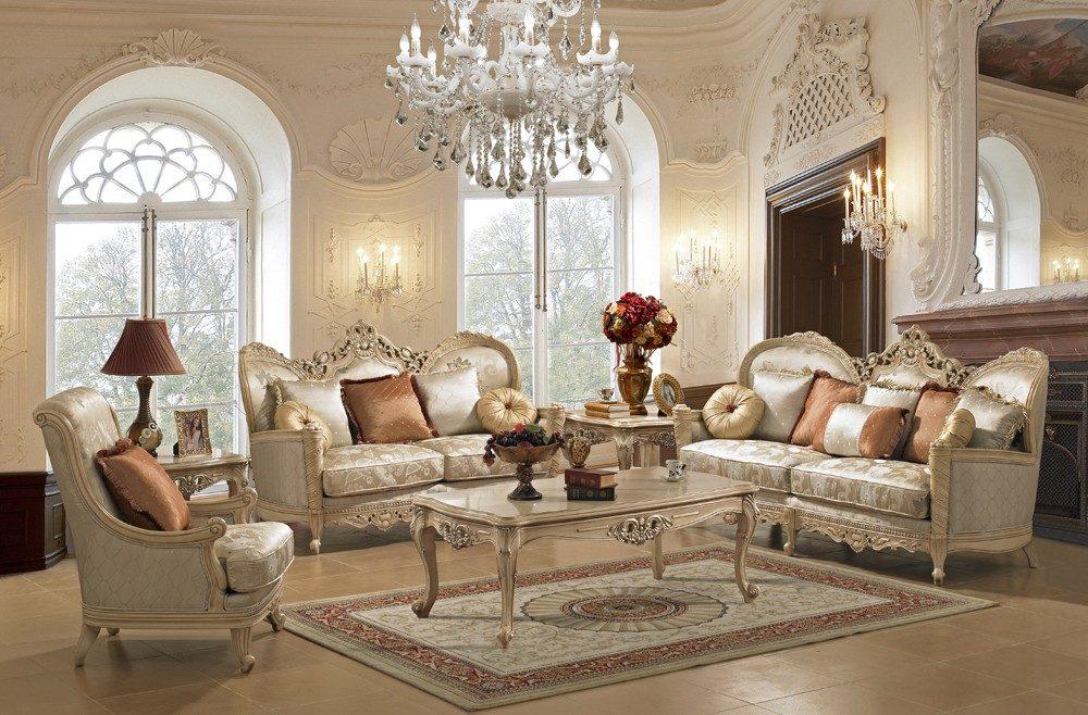 elegant-living-roomフレンチ