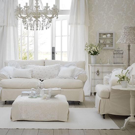 white-living-roomフレンチ