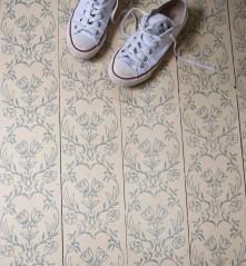 ペイントした床