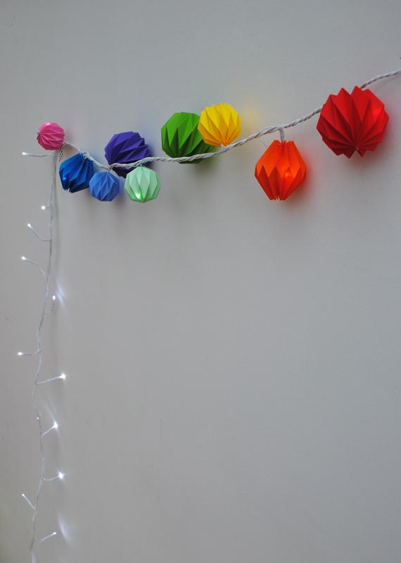 ハート 折り紙 折り紙 ガーランド 作り方 : sweet-shower.net