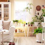 観葉植物をインテリアにとけ込ませたオシャレな飾り方実例集
