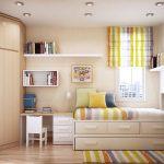 【小学生の部屋】狭くても収納たっぷりで広く使えるレイアウト参考例
