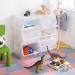 万能収納ケース、froq(フロック)を使って子ども部屋をスッキリさせる収納術