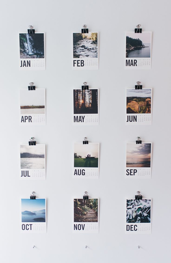 diy-cool-photo-wall-calendar