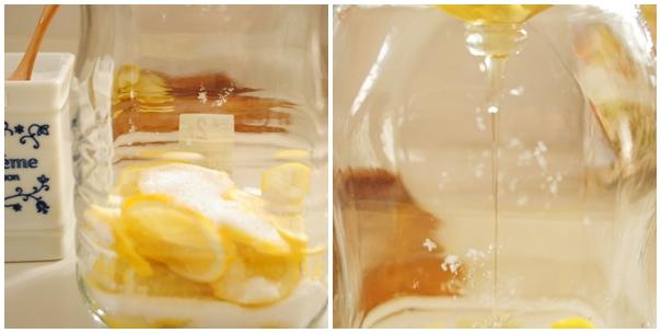 レモンシロップ作り方