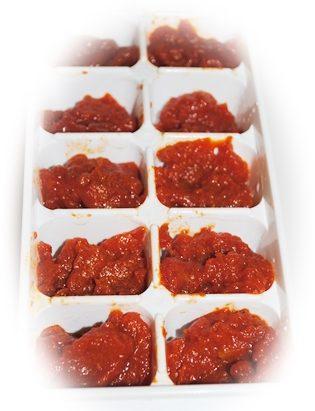 トマトソース保存