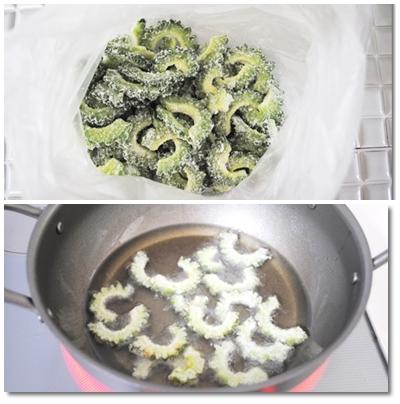 作り方ゴーヤチップス