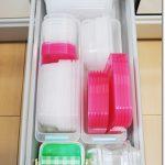 【キッチンの引き出し収納】タッパーやお弁当箱をスッキリと収納させるたった3つの方法