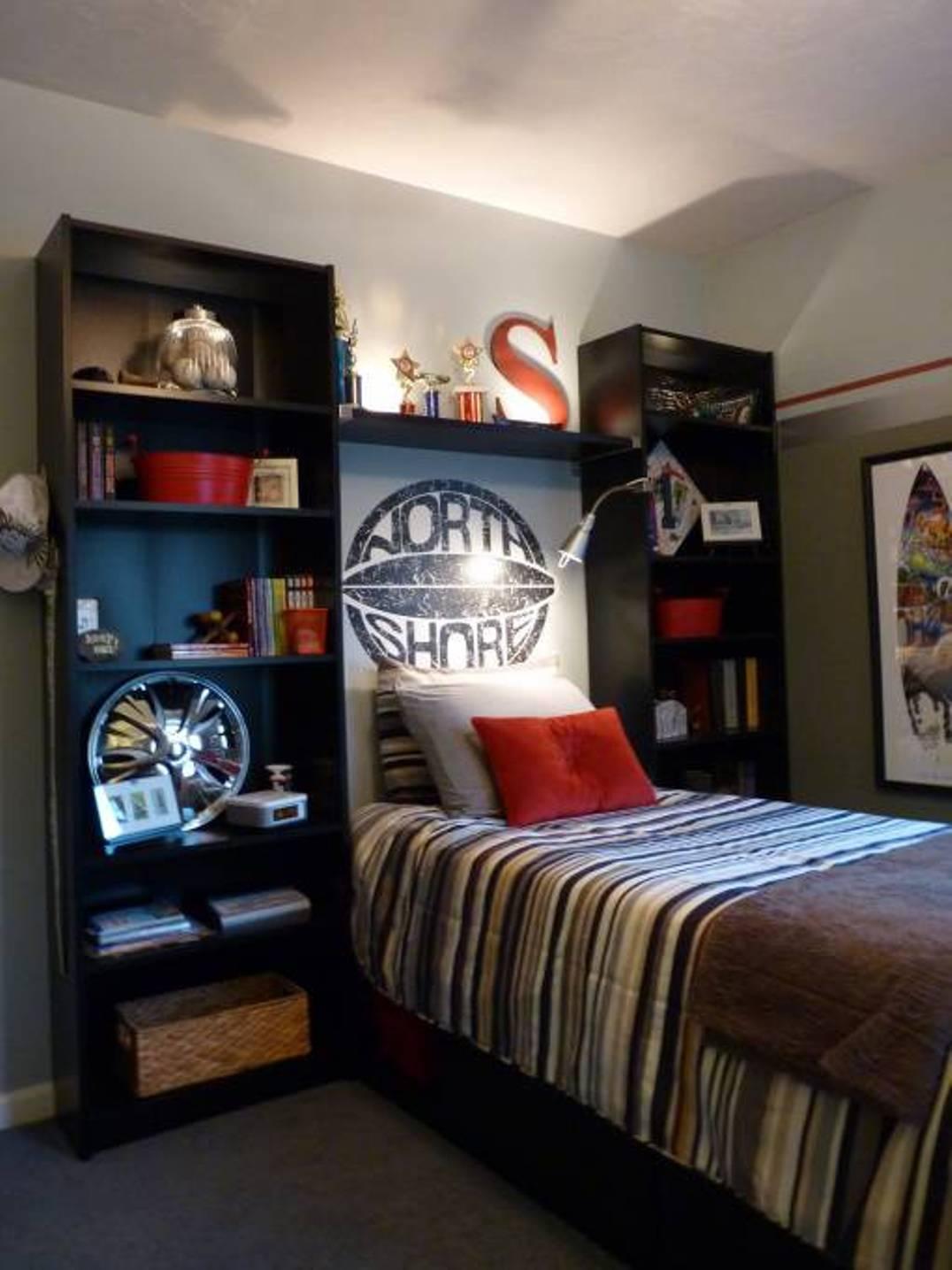 中高生のベッドルーム