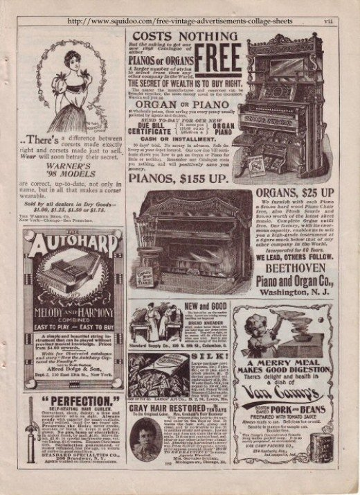 アンティーク広告